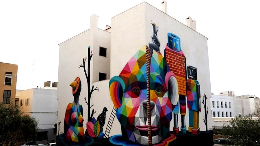 bloop ibiza okuda murals