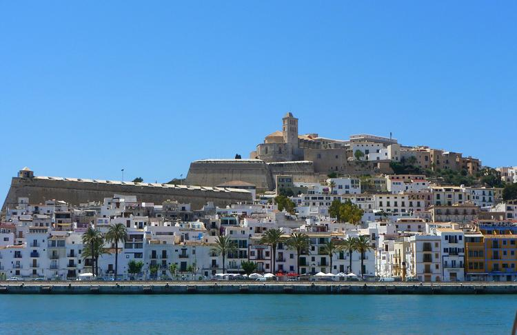 first time Ibiza Dalt Vila