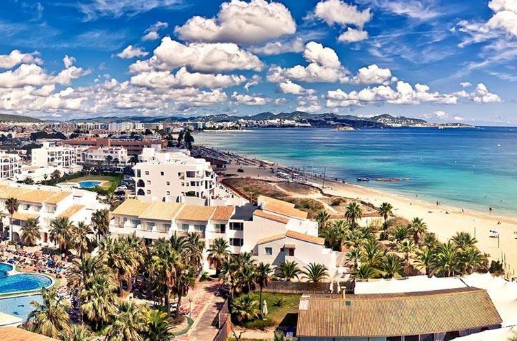 first time Ibiza playa bossa