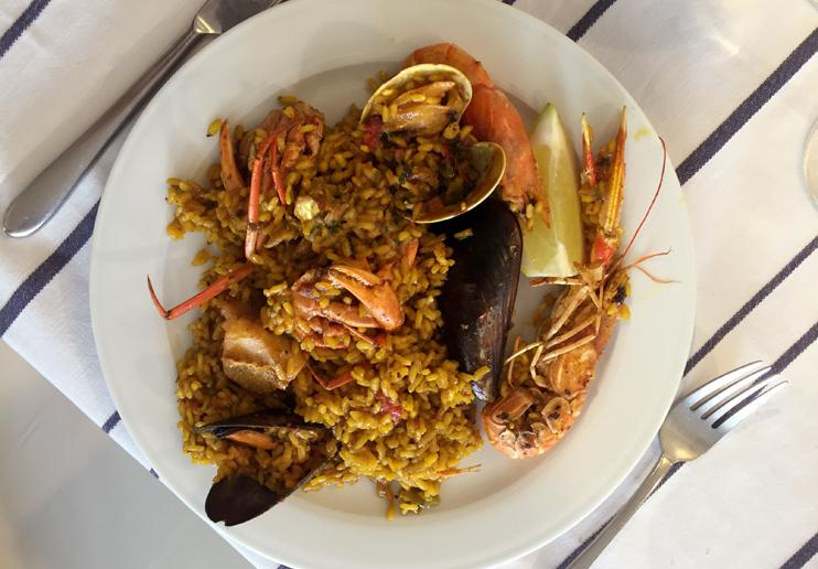 best paellas ibiza port balansat