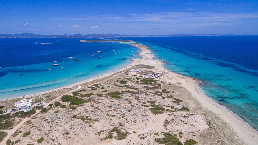 best beaches formentera illetes