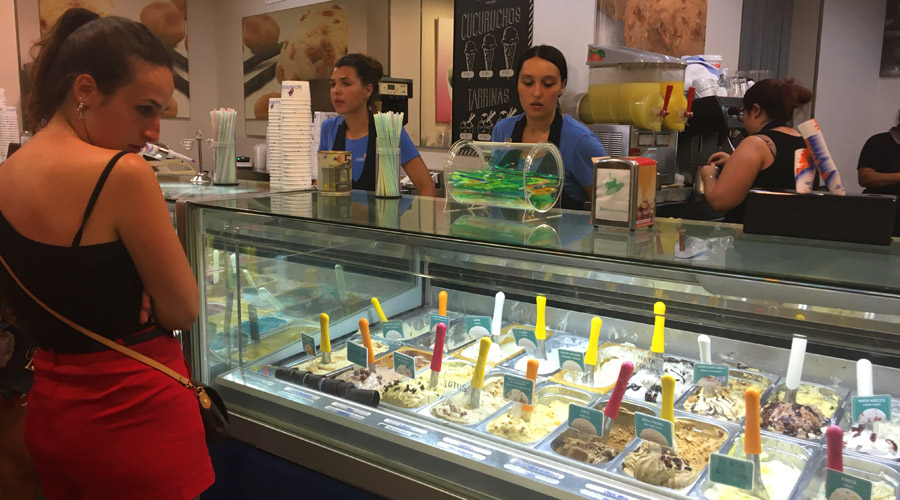 ice cream ibiza valencianos